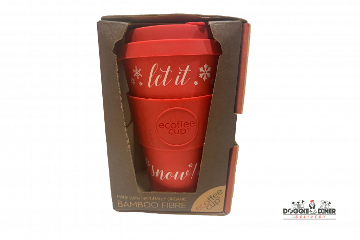 LET IT SNOW Ecoffeecup 14oz