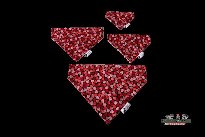 Valentines Bandana – Multi Heart